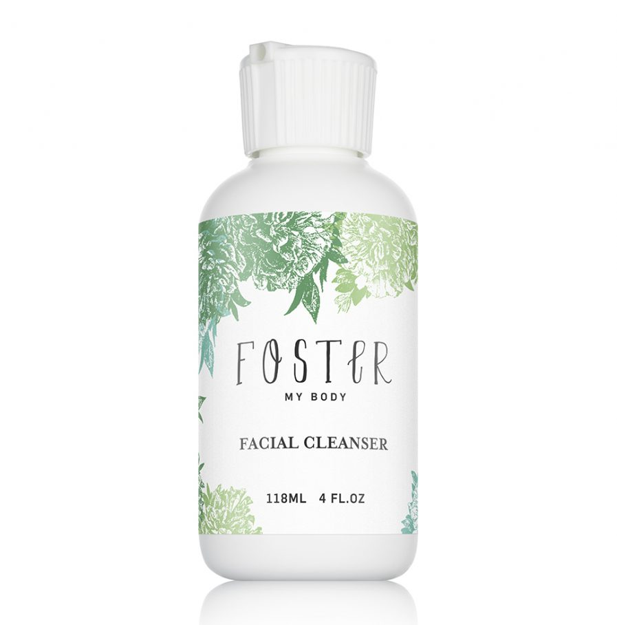 organic facial cleanser cream lotion