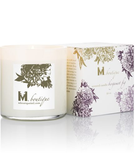 luxury bergamot candle for great homecare