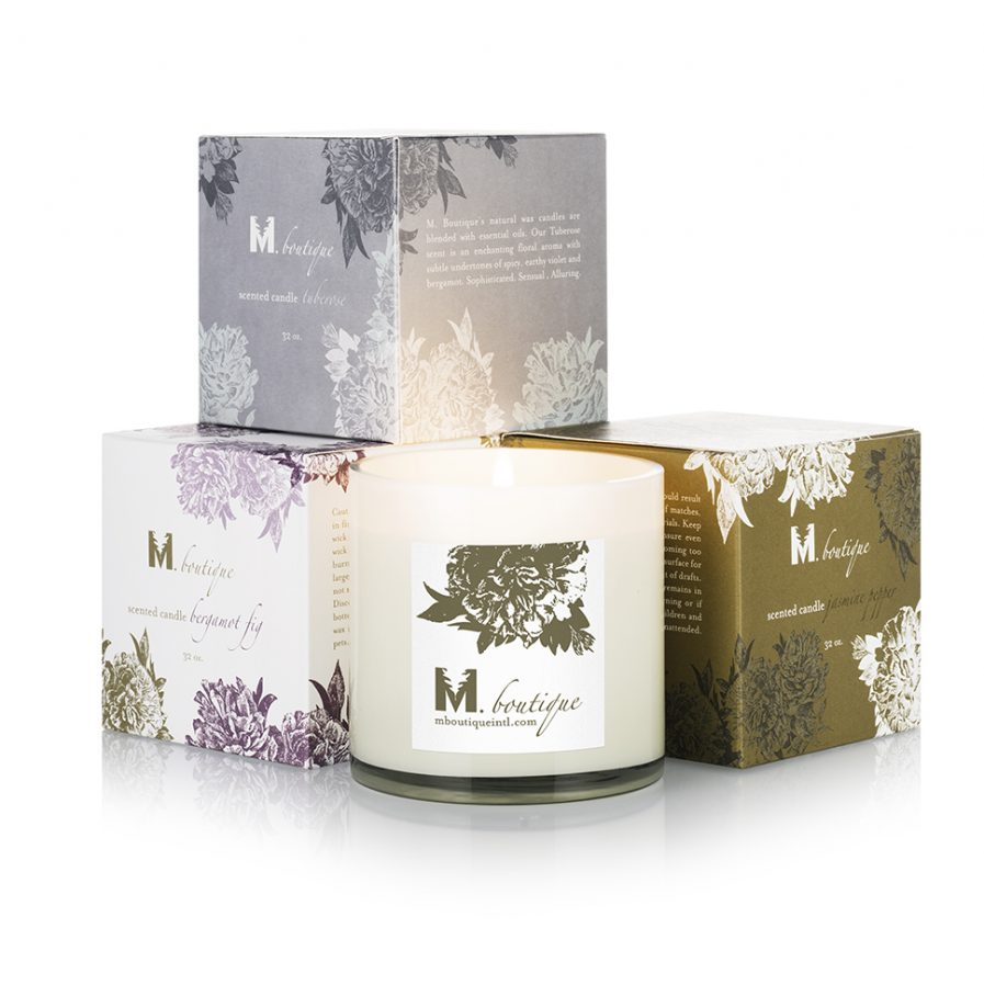 luxury bergamot candle boxes for great homecare