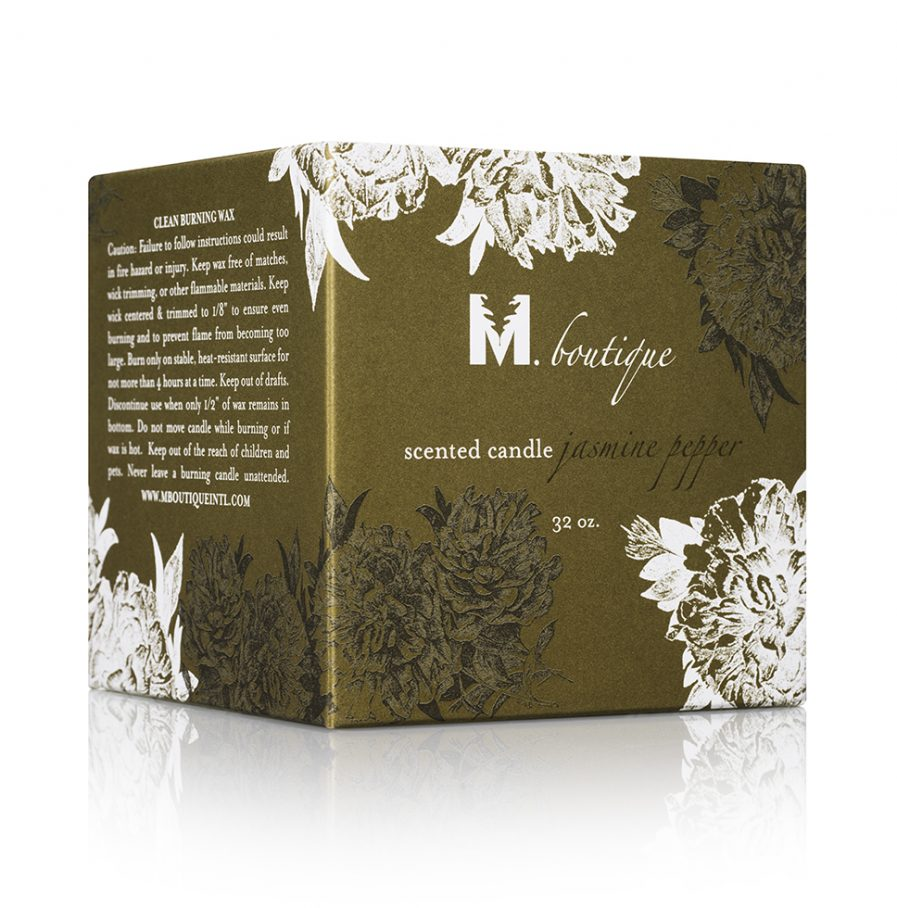 luxury jasmine candle box for great homecare