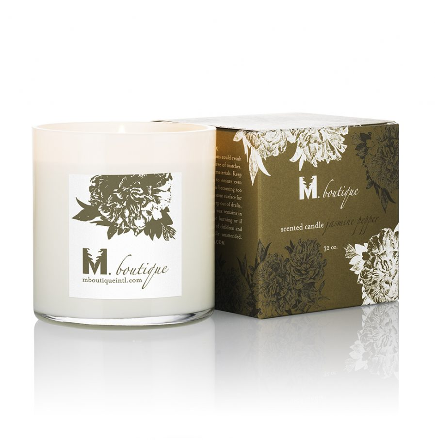 luxury jasmine candle for great homecare