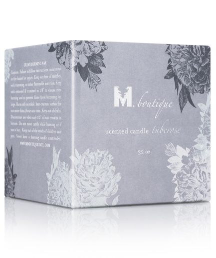 luxury tuberose candle box for great homecare