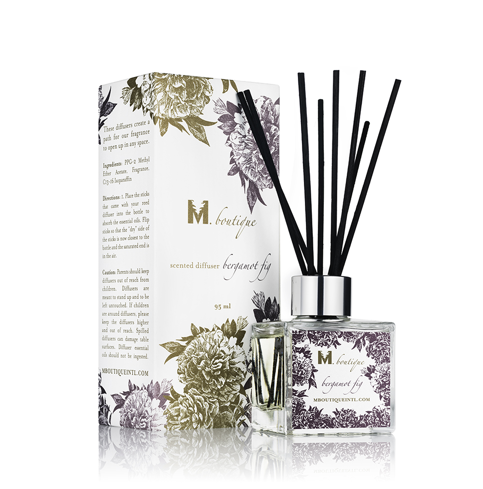 Bergamot Fig Diffuser - M Boutique International